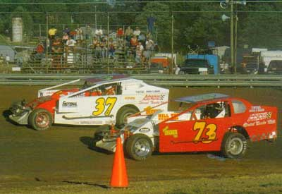 2003 - Jeremiah and Travis racing together