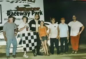 Travis wins his 1st feature at MRP 2005