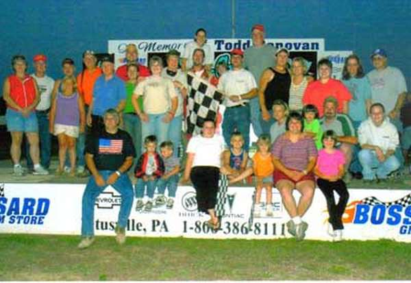 Jeremiah's second win July 3, 2005. Not only was this Jeremiah's 2nd big block win ever, it was 2 in a row!
