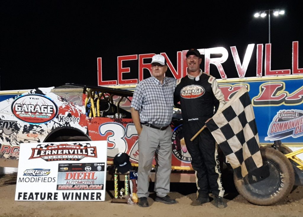 Jeremiah won his second feature of the season at Lernerville on July 12, 2019.