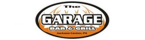 This is the logo image of our sponsor, The Garage Bar and Grill