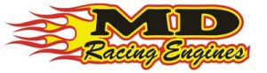 This is an image of the logo for our sponsor, MD Racing Engines.