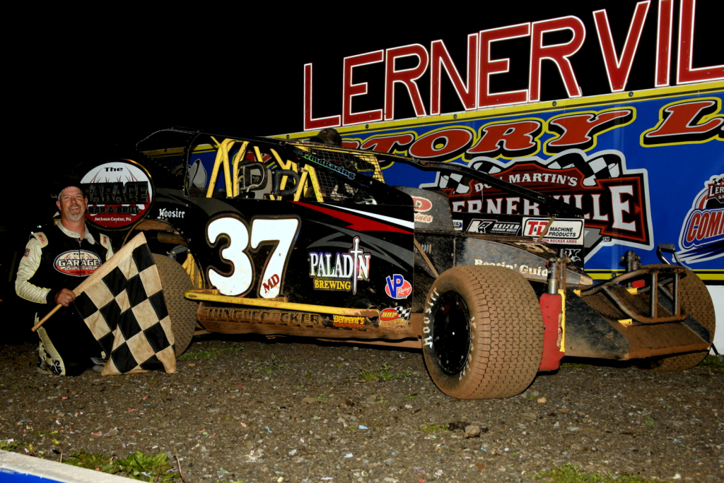 Jeremiah collected his 2nd Lernerville win of 2021 on June 11.