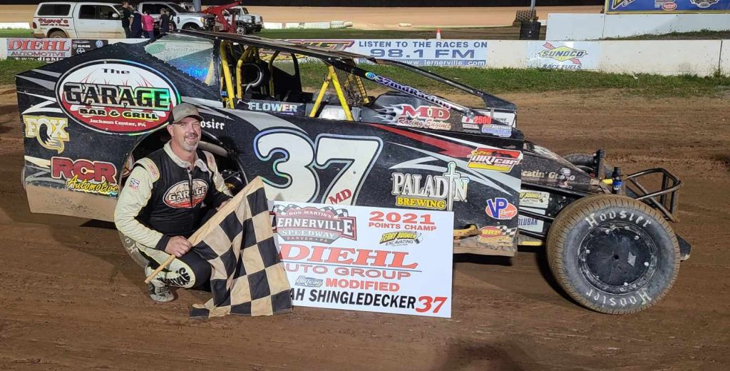 Jeremiah claimed the 2021 Lernerville track championship.