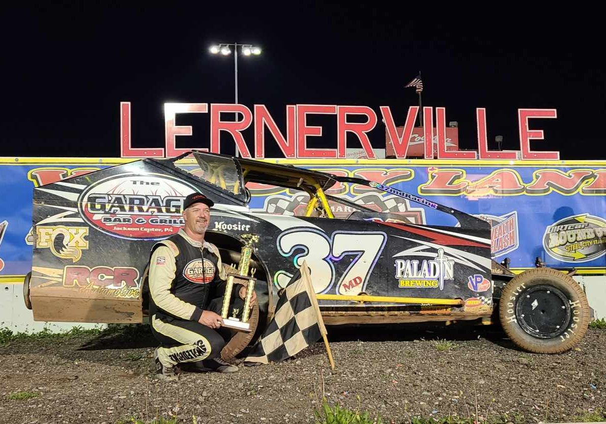 Jeremiah wins on June 11 for 2nd Lernerville victory of 2021, 4th overall 2021 win!